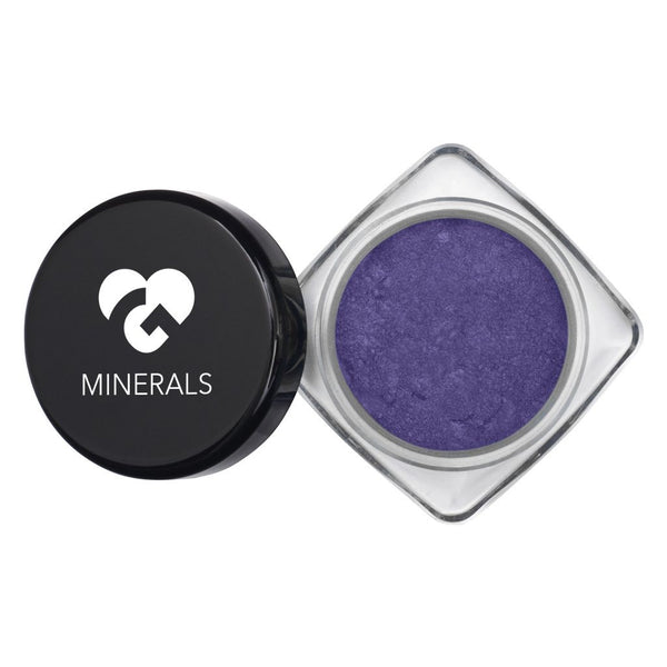 Periwinkle Bluish with Colorful Flecks Hi-Def Mineral Pigments - 3