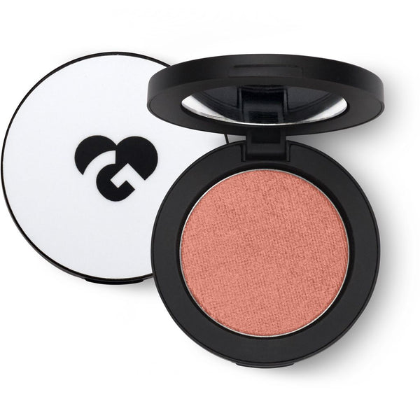 Light Ginger Brown & Gold Shimmer Blush - 237 ♥