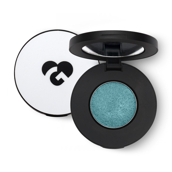 Intense Sea Blue with Turquoise Reflects Eyeshadow - 341