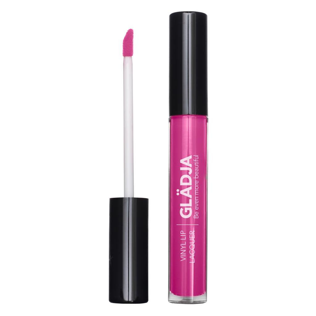 Bright Cool Blue-Based Pink Vinyl Lip Lacquer - 23