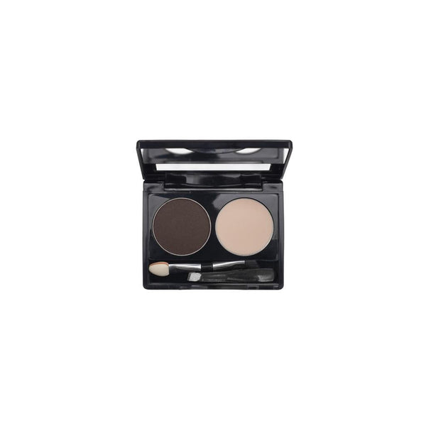 2-Well Brow Palette - Black Brown - 715