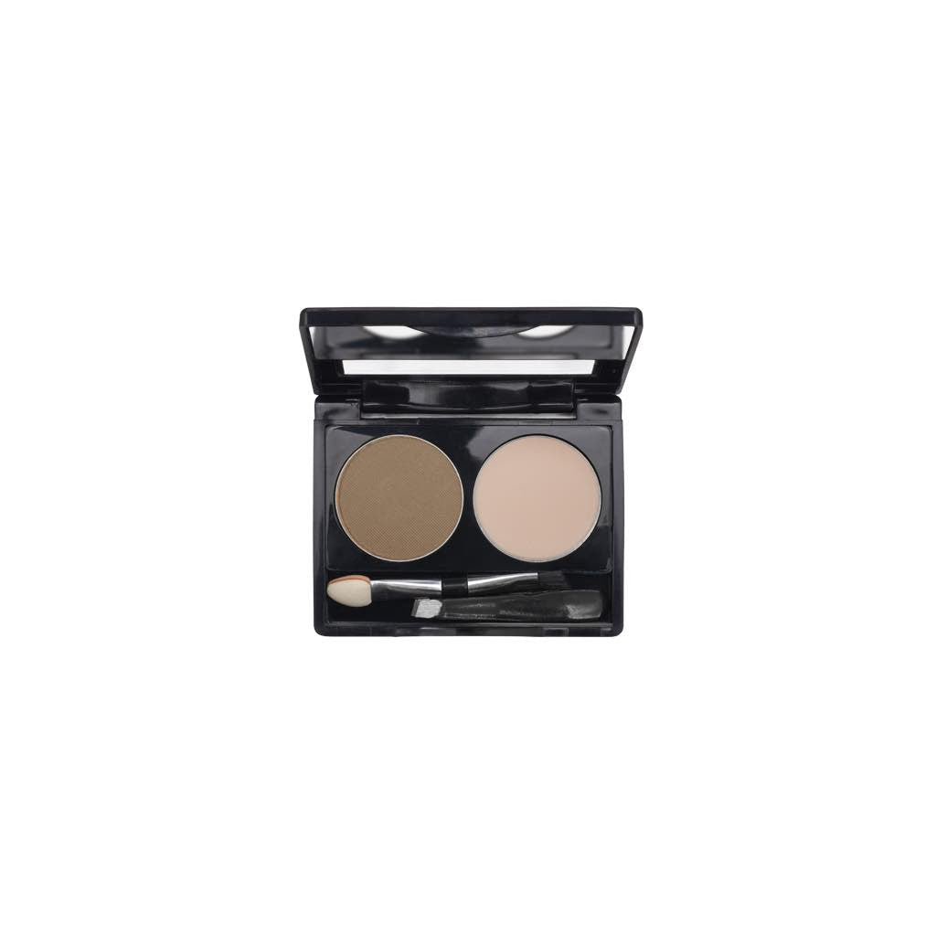 2-Well Brow Palette - Cool Brown - 711