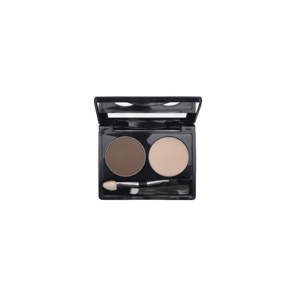 2-Well Brow Palette - Wine Brown - 709