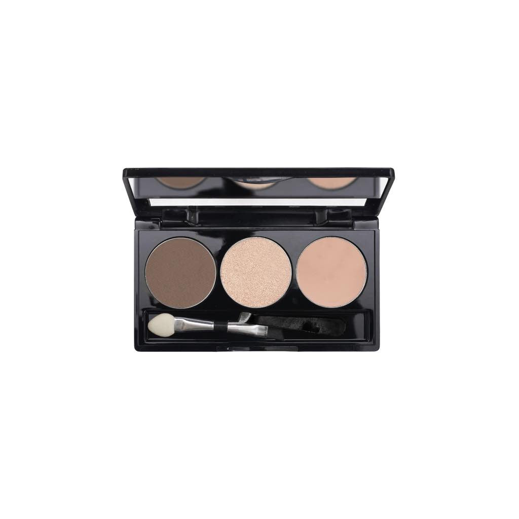 3-Well Brow Palette - Ash Brown Brow Goddess