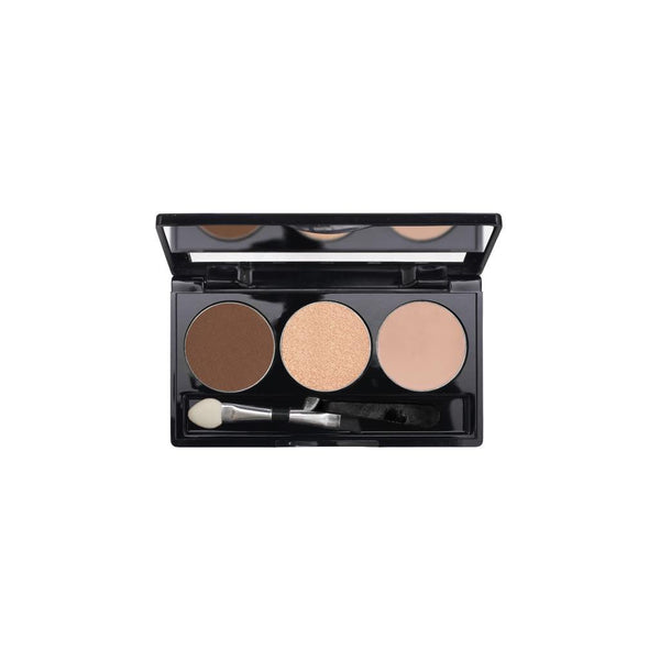 3-Well Brow Palette - Deep Brown Brow Thrill