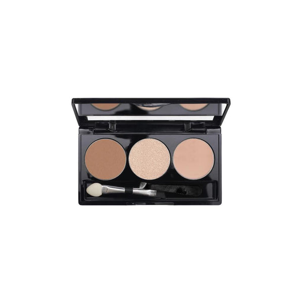 3-Well Brow Palette - Golden Brown Brow Haven