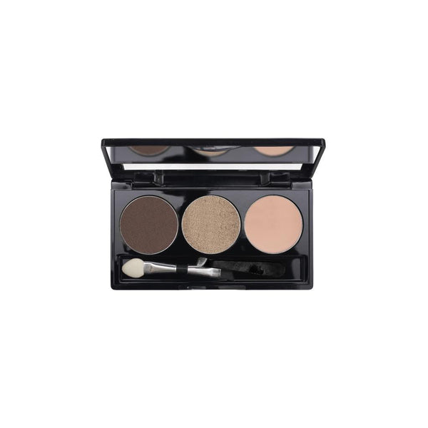 3-Well Brow Palette - Dark Brunette Brow Wow