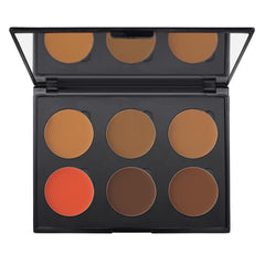 6-Well Deep Cream Colors Corrector Palette