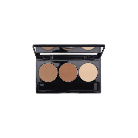 3-Well Fair Colors Contour Powder Palette
