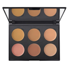 6-Well Medium Cream Colors Corrector Palette