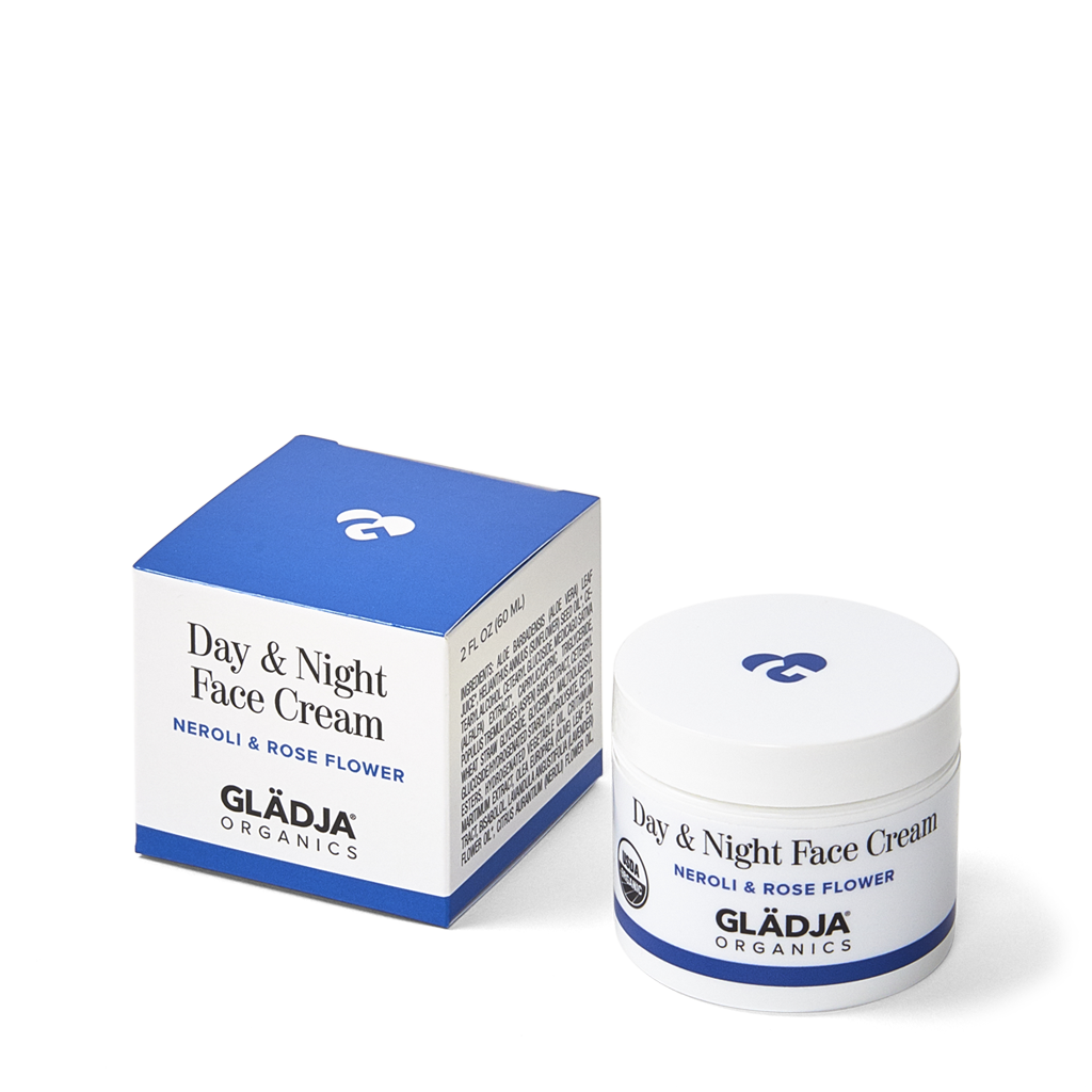 Organic Day & Night Face Cream - Neroli & Rose Flower