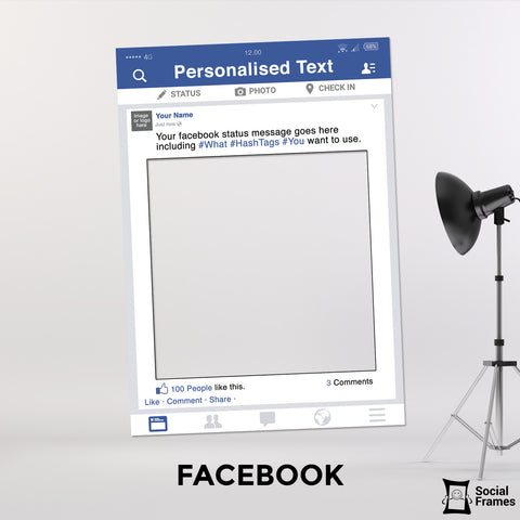 Facebook Photo Booth Selfie Frame