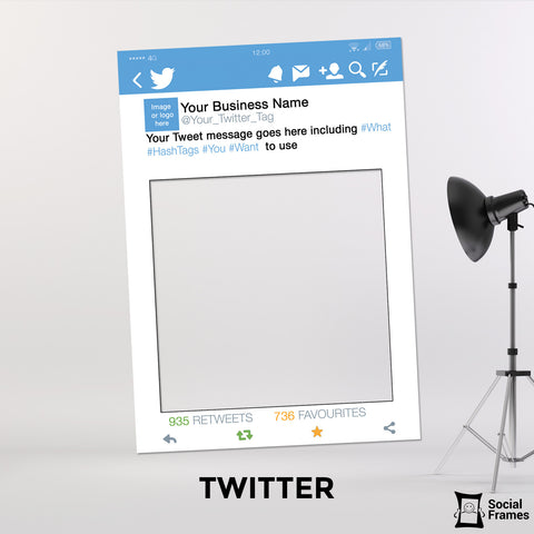 Twitter Photo Booth Selfie Frame