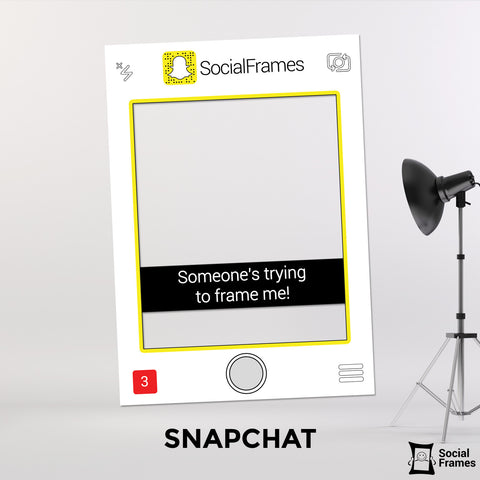 SnapChat Photo Booth Frame