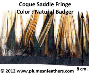 Coque Saddle Badger Fringe 8cm