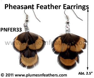 Feather Earrings PNFER33