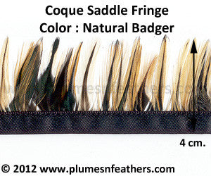 Coque Saddle Badger Fringe 4cm