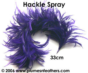 Stripped Hackle Spray 4""