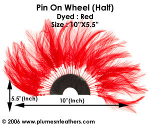Coque Hackle Wheel (Half)