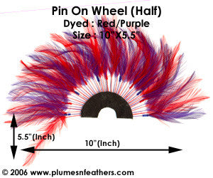 Coque Hackle Wheel D.Tone (Half)