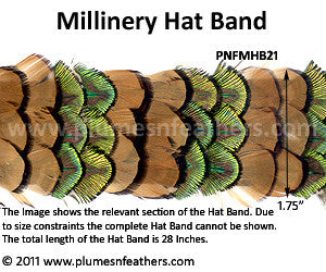 Hat Band '21'