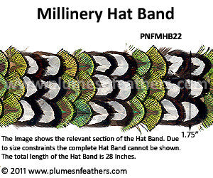 Hat Band '22'