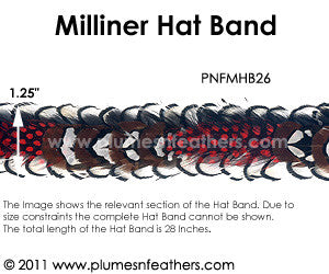 Hat Band '26'