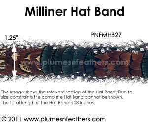 Hat Band '27'
