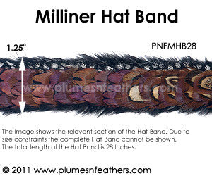 Hat Band '28'