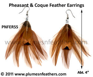 Feather Earrings PNFER55