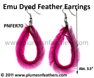 Feather Earrings PNFER70