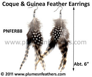 Feather Earrings PNFER88