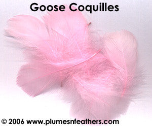 Goose Coquille Loose Dyed ½ Oz.