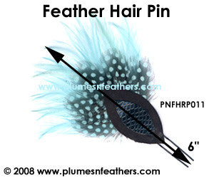 Feather Hair Pin PNFHRP11