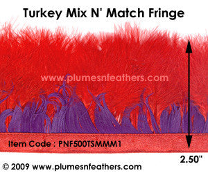 Marabou Mix N' Match Feather Fringe I