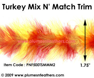 Marabou Mix N' Match Feather Trim II