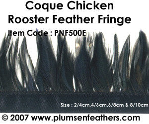 Coque Saddle Fringe on Bais Tape