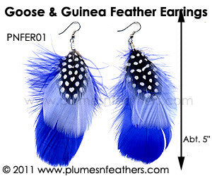 Feather Earrings PNFER01