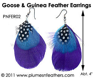 Feather Earrings PNFER02