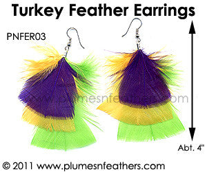 Feather Earrings PNFER03