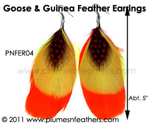 Feather Earrings PNFER04