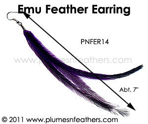 Feather Earrings PNFER14