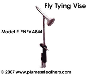 Fly Tying Vise 844 Chrome