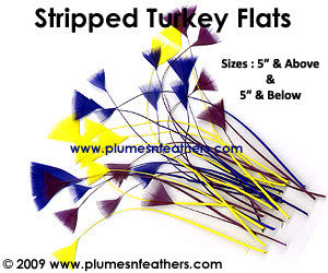 "Stripped Turkey Flats 5"" & Above"