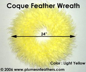 Feather Wreath Coque Saddle '11'
