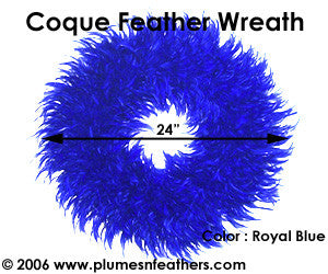 Feather Wreath Coque Saddle '3'