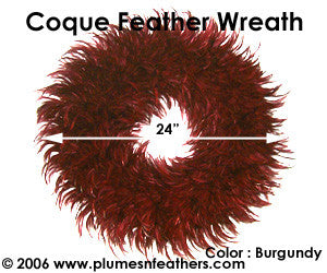 Feather Wreath Coque Saddle '5'
