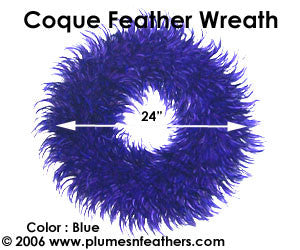 Feather Wreath Coque Saddle '2'