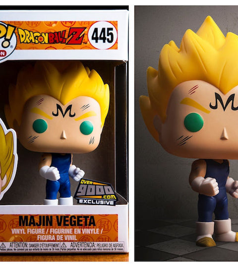 Over 9000 NYCC Exclusive Funko Pop Majin Vegeta