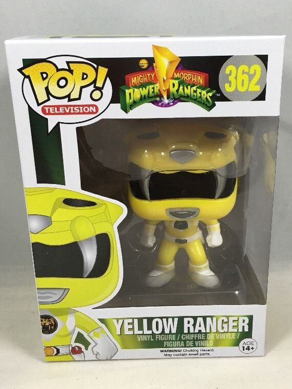 MIghty Morphin Yellow Power Ranger